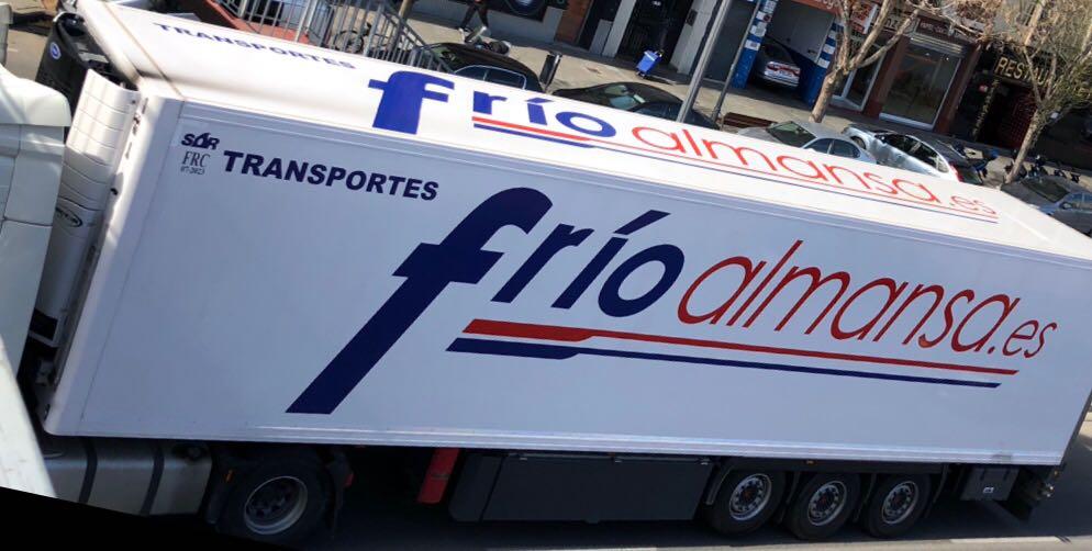 transportes internacionales frio almansa transporte por carretera de mercancía congelada en grupaje