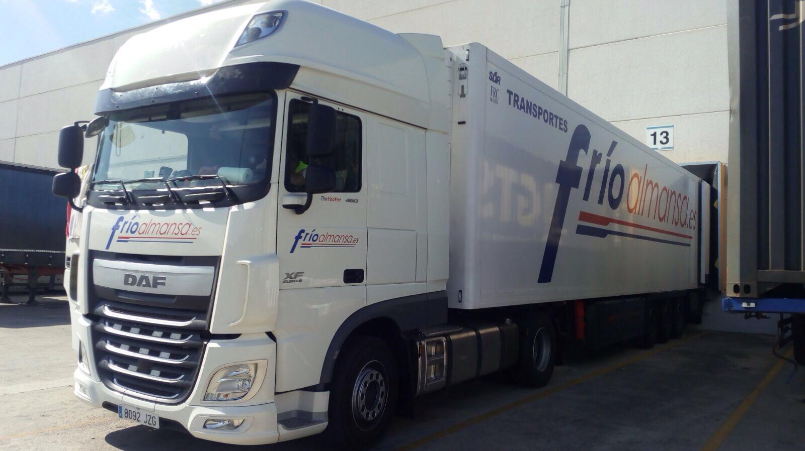 transportes internacionales frio almansa transporte por carretera de mercancía congelada en grupaje6